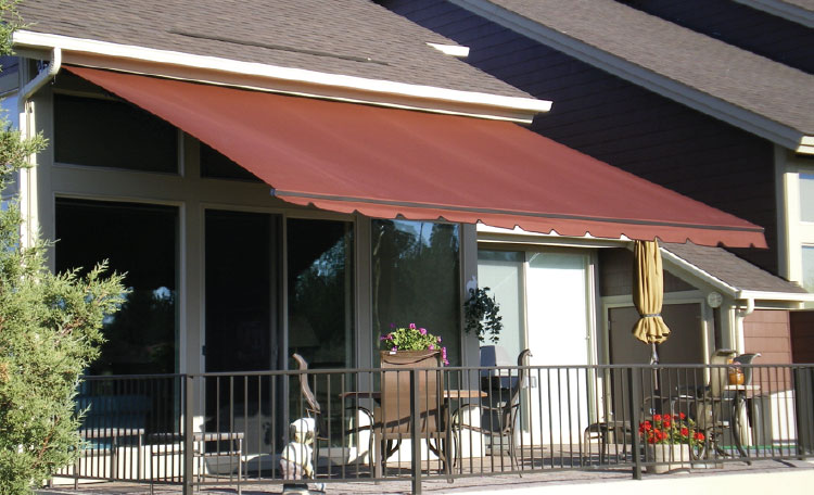 abc Deluxe Folding Arm Awning