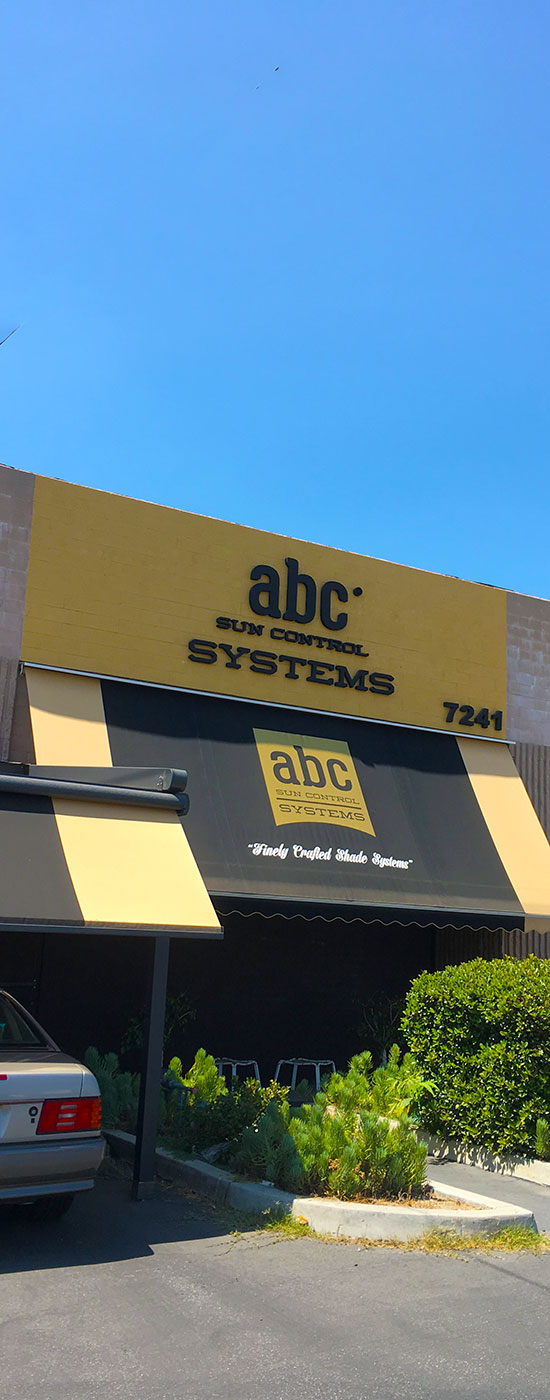 abc Sun Control Systems Front