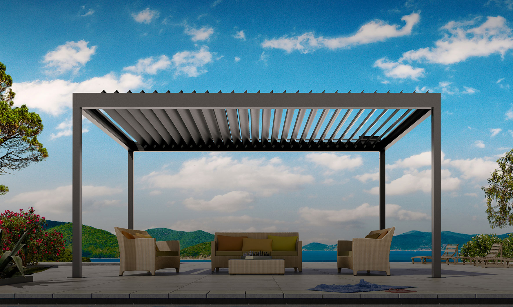 Retractable Awnings Shades Tension Systems Abc Sun